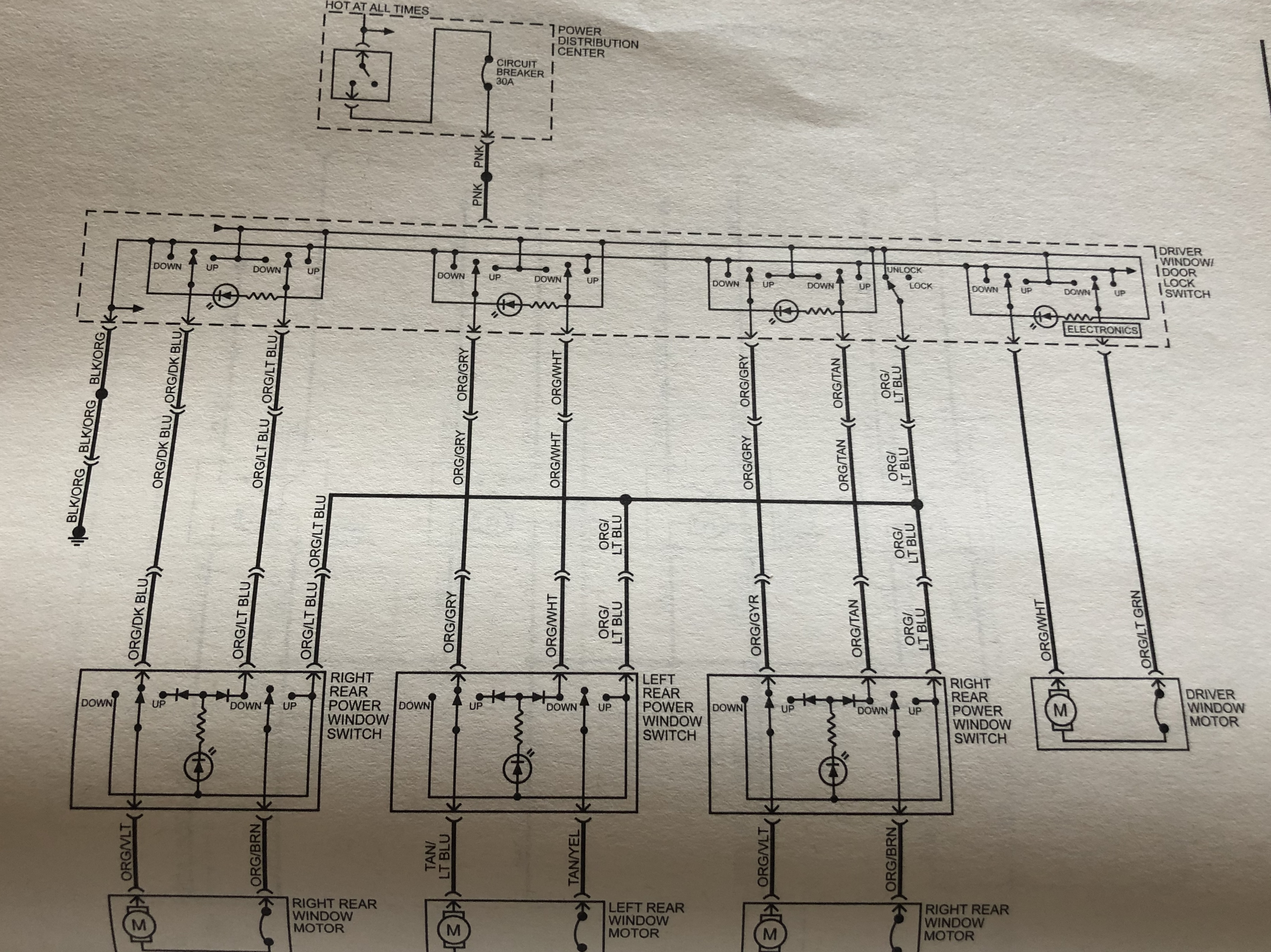 2010 dodge charger wiring diagram help     window wont go up     dodge charger forum  help     window wont go up     dodge