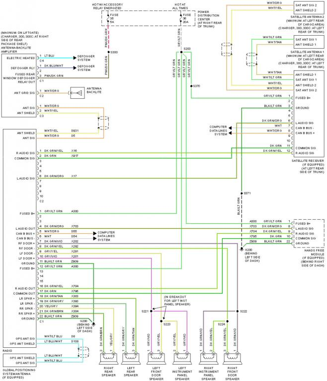Kicker Upgrade Dodge Charger Forum, Dodge Charger Stereo Wiring Diagram
