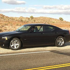 New Charger At Joshua Tree Park