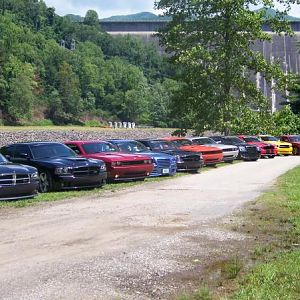 Charger Forumz 2009 meet in the mountains Gatlinburg Tn 038