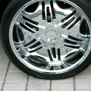 Picture of my rims.