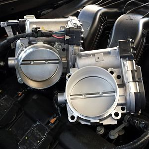 Ported Throttle Body Swap